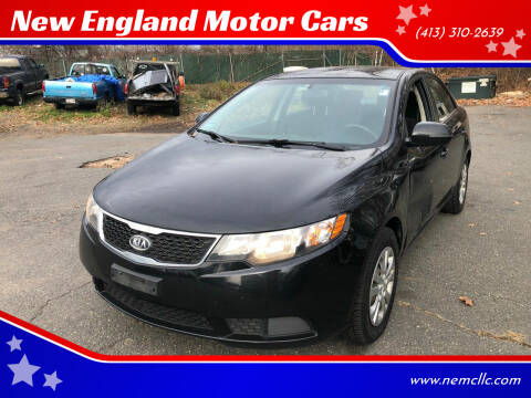 2012 Kia Forte for sale at New England Motor Cars in Springfield MA
