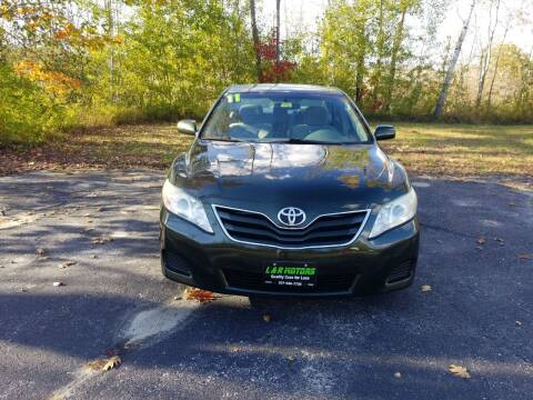 2011 Toyota Camry for sale at L & R Motors in Greene ME