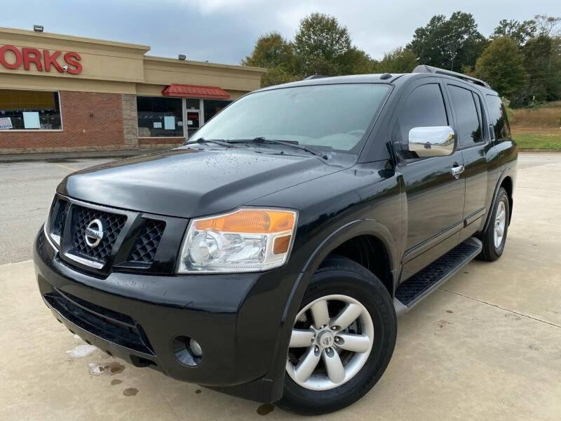 2010 Nissan Armada for sale at Gwinnett Luxury Motors in Buford GA