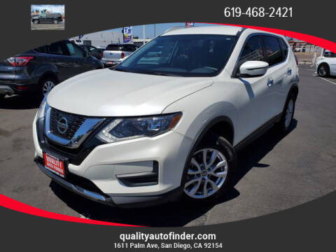 2017 Nissan Rogue for sale at QUALITY AUTO FINDER in San Diego CA