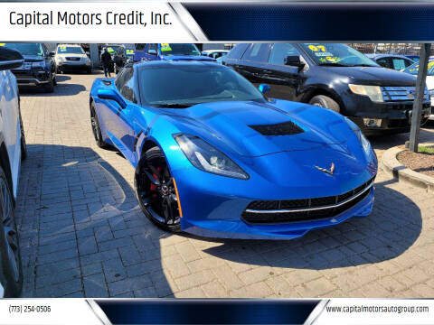 2015 Chevrolet Corvette for sale at Capital Motors Credit, Inc. in Chicago IL