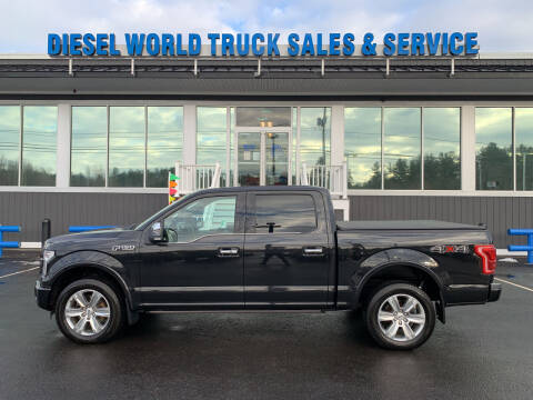 2015 Ford F-150 for sale at Diesel World Truck Sales in Plaistow NH