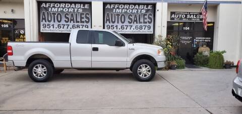 2006 Ford F-150 for sale at Affordable Imports Auto Sales in Murrieta CA