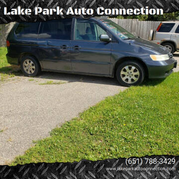 2004 Honda Odyssey for sale at Lake Park Auto Connection in Lake Park MN