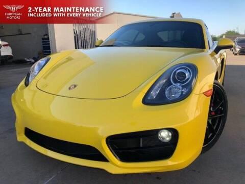 2015 Porsche Cayman for sale at European Motors Inc in Plano TX