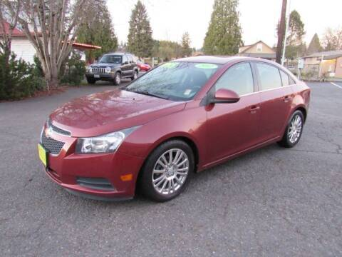 2012 Chevrolet Cruze for sale at Triple C Auto Brokers in Washougal WA