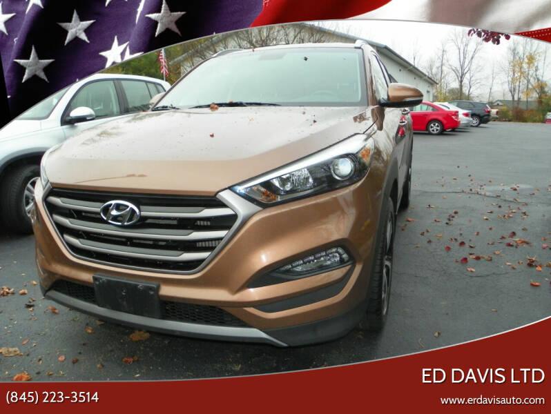 2016 Hyundai Tucson for sale at Ed Davis LTD in Poughquag NY