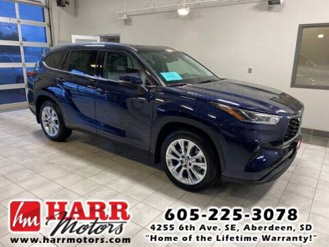 2020 Toyota Highlander for sale at Harr's Redfield Ford in Redfield SD