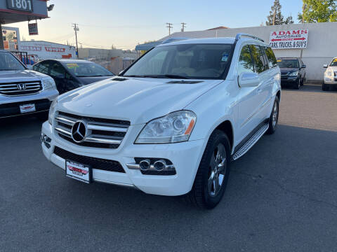 2010 Mercedes-Benz GL-Class for sale at Adams Auto Sales in Sacramento CA