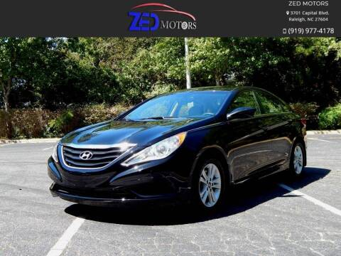 2012 Hyundai Sonata for sale at Zed Motors in Raleigh NC