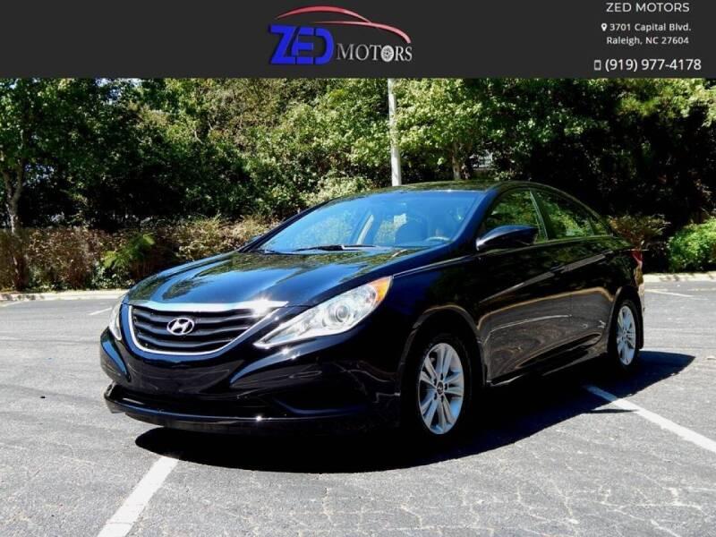 2012 Hyundai Sonata for sale at Zed Motors in Raleigh NC