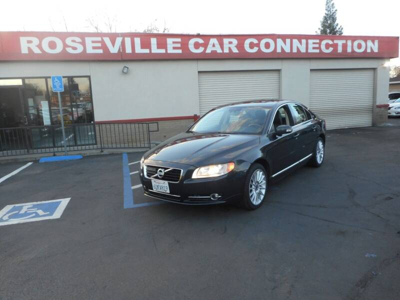 2010 Volvo S80 for sale at ROSEVILLE CAR CONNECTION in Roseville CA