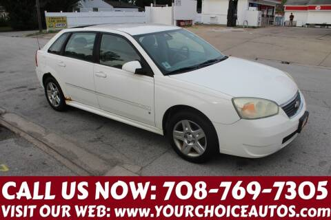 2006 Chevrolet Malibu Maxx for sale at Your Choice Autos in Posen IL
