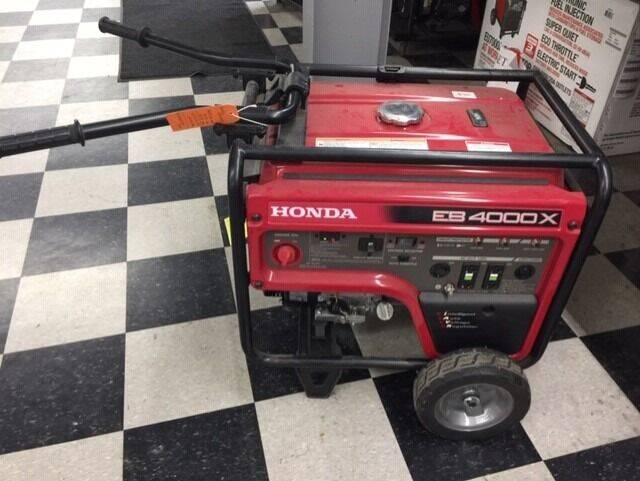 2021 Honda POWER EB4000X1 GENERATOR for sale at Irv Thomas Honda Suzuki Polaris in Corpus Christi TX