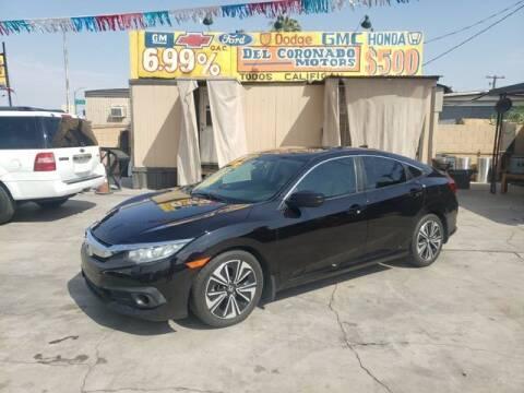 2016 Honda Civic for sale at DEL CORONADO MOTORS in Phoenix AZ