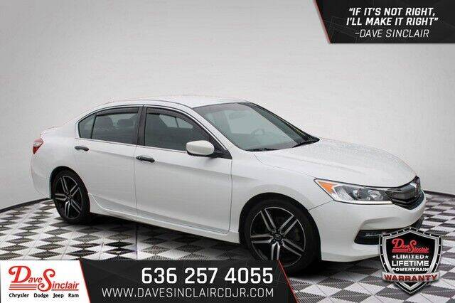 2017 Honda Accord for sale at Dave Sinclair Chrysler Dodge Jeep Ram in Pacific MO