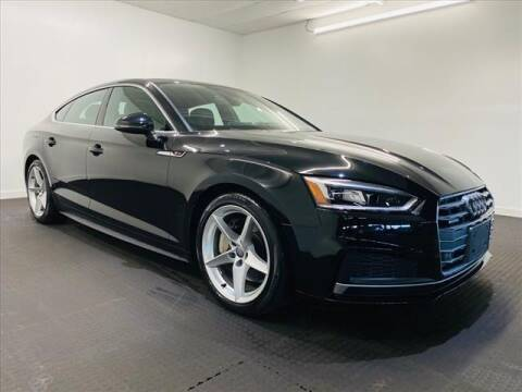 2018 Audi A5 Sportback for sale at Champagne Motor Car Company in Willimantic CT