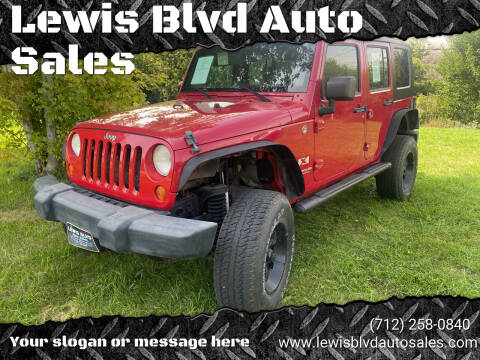 2007 Jeep Wrangler Unlimited for sale at Lewis Blvd Auto Sales in Sioux City IA