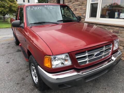 2002 Ford Ranger for sale at Matt-N-Az Auto Sales in Allentown PA