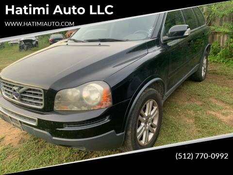 2011 Volvo XC90 for sale at Hatimi Auto LLC in Buda TX