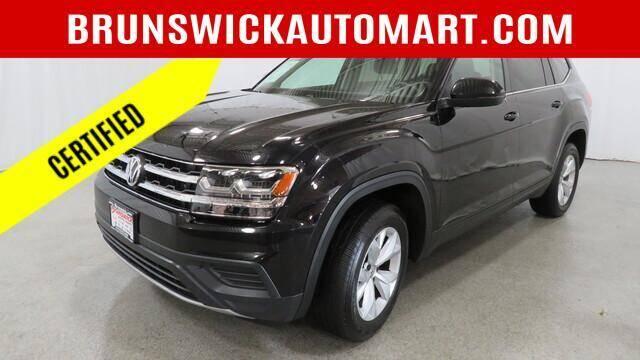 2018 Volkswagen Atlas for sale at Brunswick Auto Mart in Brunswick OH