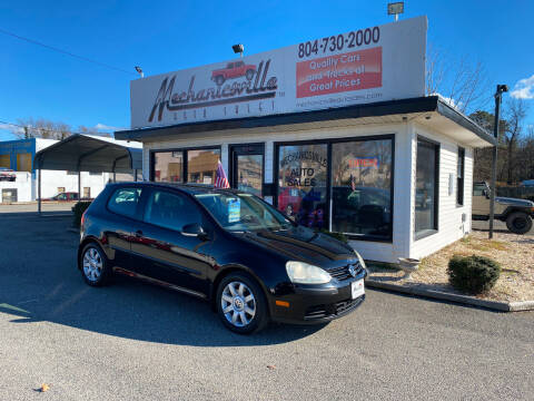 2009 Volkswagen Rabbit for sale at Mechanicsville Auto Sales in Mechanicsville VA