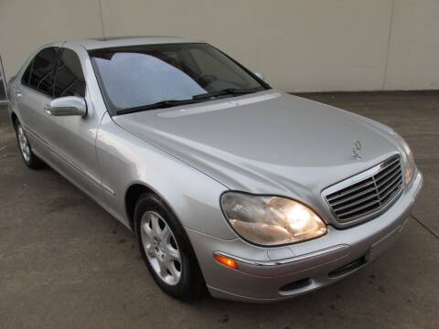 2001 Mercedes-Benz S-Class for sale at QUALITY MOTORCARS in Richmond TX