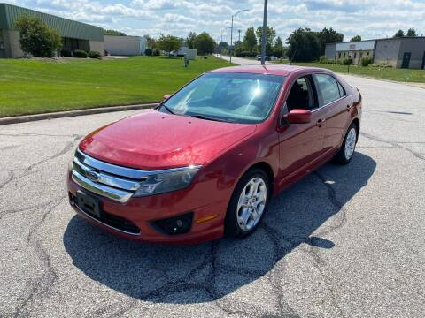 2010 Ford Fusion for sale at JE Autoworks LLC in Willoughby OH