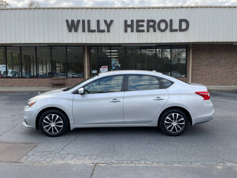 2016 Nissan Sentra for sale at Willy Herold Automotive in Columbus GA