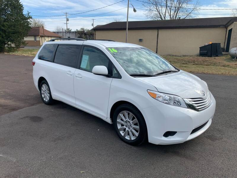 2016 Toyota Sienna for sale at Interstate Fleet Inc. Auto Sales in Colmar PA