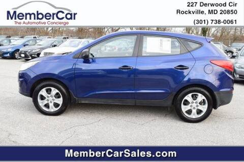 2010 Hyundai Tucson for sale at MemberCar in Rockville MD