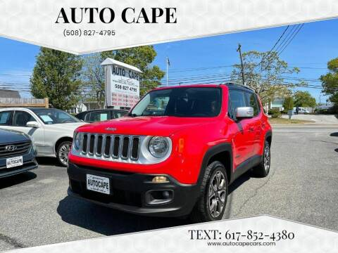 2015 Jeep Renegade for sale at Auto Cape in Hyannis MA