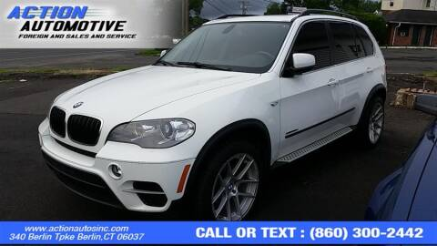 2013 BMW X5 for sale at Action Automotive Inc in Berlin CT