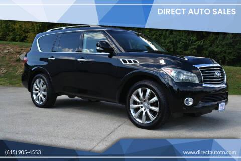 2012 Infiniti QX56 for sale at Direct Auto Sales in Franklin TN