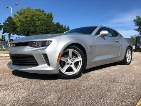 2018 Chevrolet Camaro for sale at El Camino Auto Sales in Gainesville GA