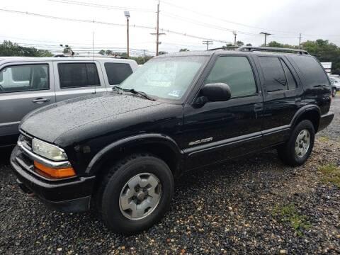 2003 Chevrolet Blazer for sale at CRS 1 LLC in Lakewood NJ