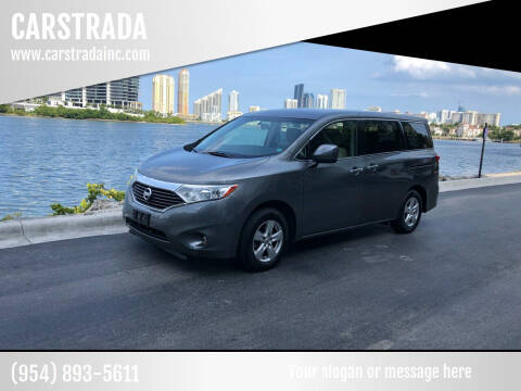 2015 Nissan Quest for sale at CARSTRADA in Hollywood FL
