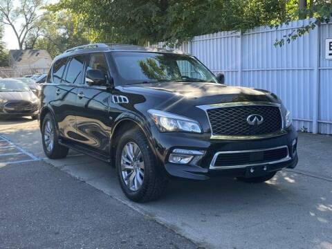 2016 Infiniti QX80 for sale at SOUTHFIELD QUALITY CARS in Detroit MI