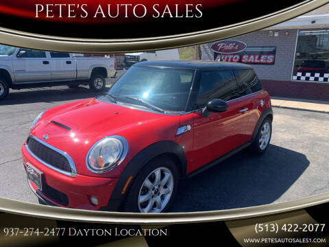 2009 MINI Cooper for sale at PETE'S AUTO SALES - Dayton in Dayton OH