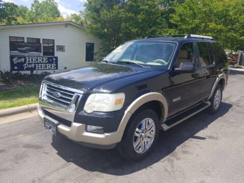 2006 Ford Explorer for sale at TR MOTORS in Gastonia NC