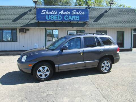 2005 Hyundai Santa Fe for sale at SHULTS AUTO SALES INC. in Crystal Lake IL
