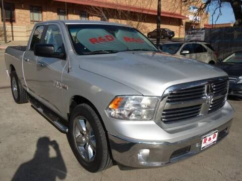 2015 RAM Ram Pickup 1500 for sale at R & D Motors in Austin TX