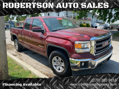 2014 GMC Sierra 1500 for sale at ROBERTSON AUTO SALES in Bowling Green KY