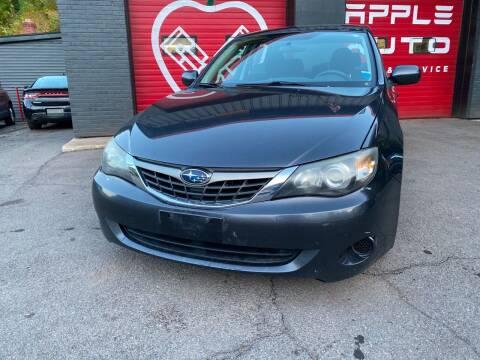 2009 Subaru Impreza for sale at Apple Auto Sales Inc in Camillus NY