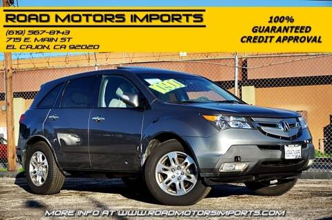 2008 Acura MDX for sale at Road Motors Imports in El Cajon CA