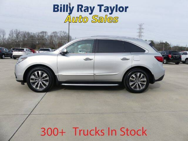 2015 Acura MDX for sale at Billy Ray Taylor Auto Sales in Cullman AL