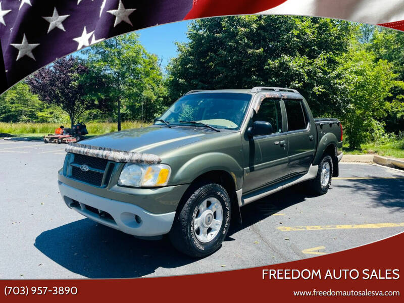2003 Ford Explorer Sport Trac for sale at Freedom Auto Sales in Chantilly VA