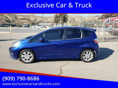 2010 Honda Fit for sale at Exclusive Car & Truck in Yucaipa CA
