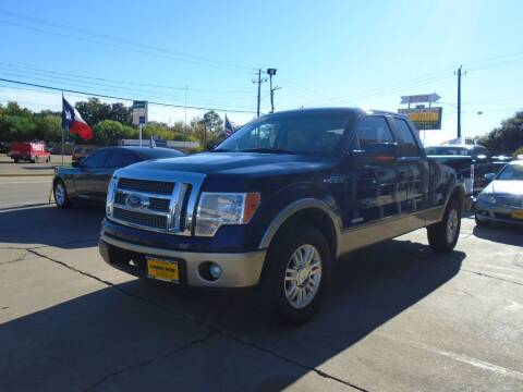 2012 Ford F-150 for sale at Metroplex Motors Inc. in Houston TX