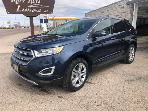 2017 Ford Edge for sale at Valley Auto Locators in Gering NE